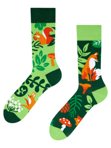 Geschenk von Dedoles Lustige Socken Waldtiere