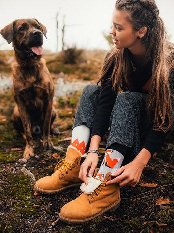 Obrázok produktu Veselé ponožky Líška