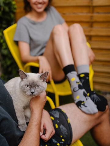 Výpredaj Veselé ponožky Mačky