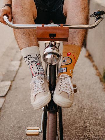 Tip na darček Živahne nogavice Mestno kolo