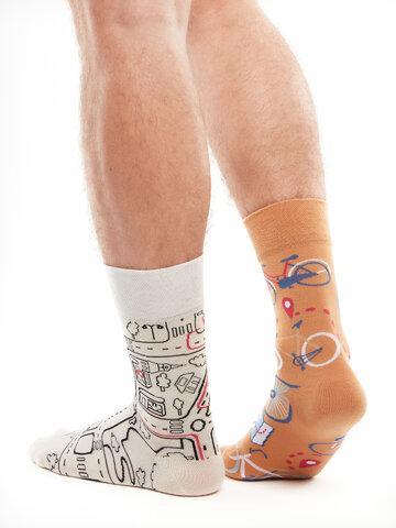 Potešte sa týmto kúskom Dedoles Živahne nogavice Mestno kolo