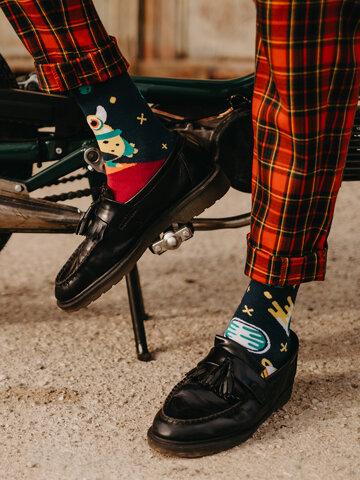 Tip na darček Živahne nogavice Nezemljani