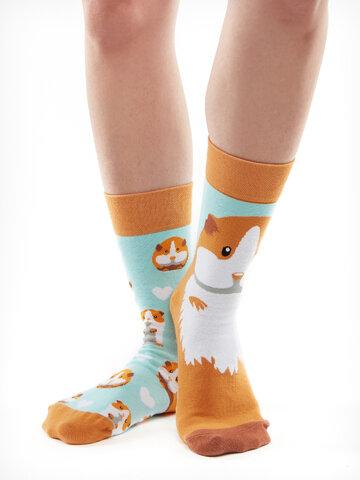 Hledáte originální a neobvyklý dárek? Obdarovaného zaručeně překvapí Veselé ponožky Morče