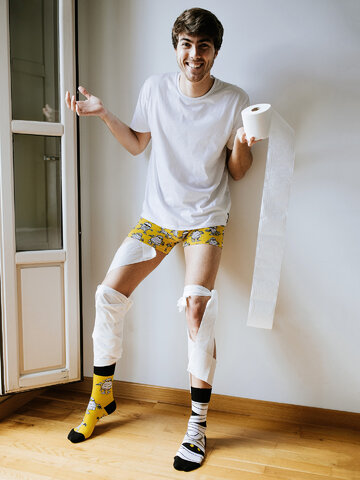 Tip na darček Vesele čarape Mumija
