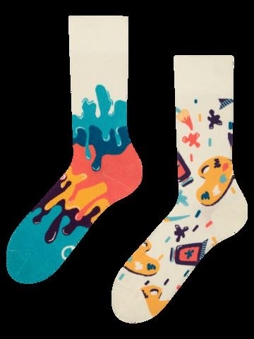 Potešte sa týmto kúskom Dedoles Živahne nogavice Barvna paleta