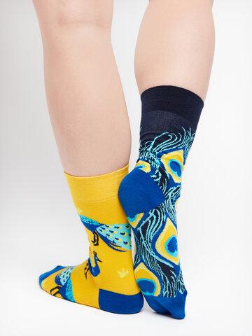 Geschenk von Dedoles Lustige Socken Pfau
