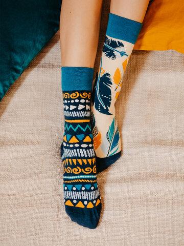 Sale Regular Socks Feathers