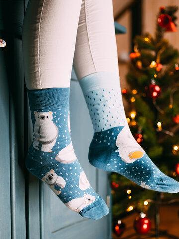 Potešte sa týmto kúskom Dedoles Regular Socks Polar Bears