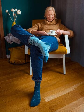 pro dokonalý a originální outfit Veselé ponožky Pampeliška