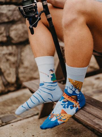 Výpredaj Vesele čarape Ribolov