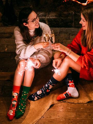 Výpredaj Calcetines alegres Santa Claus