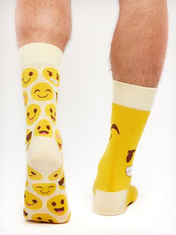 Hľadáte originálny a nezvyčajný darček? Obdarovaného zaručene prekvapí Veselé ponožky Smajlíky