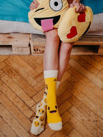 Tip na darček Veselé ponožky Smajlíky