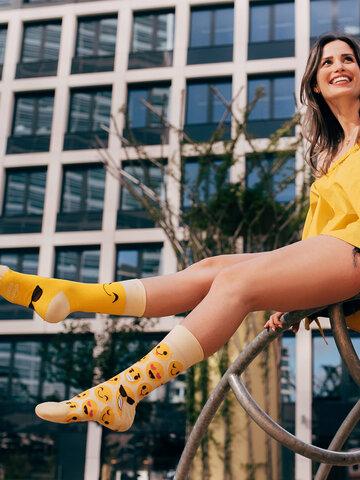 Lifestyle foto Veselé ponožky Smajlíky