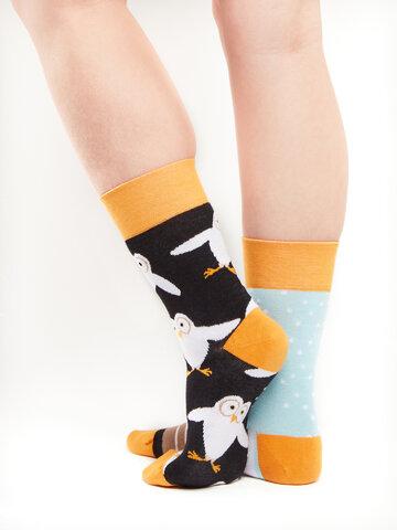 Eredeti ajándék a Dedolestől Vidám zokni Baglyok