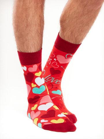 Pre dokonalý a originálny outfit Regular Socks Hearts