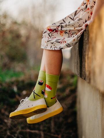 Výjimečný dárek od Dedoles Veselé ponožky Sushi