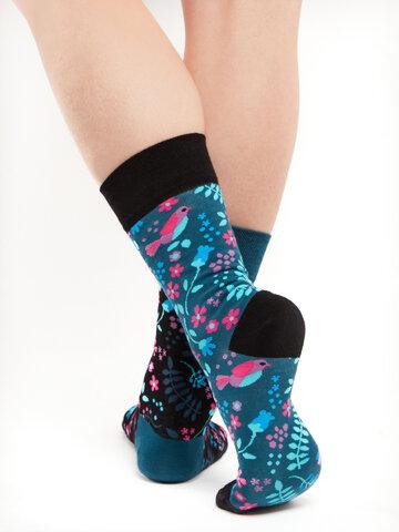 Pre dokonalý a originálny outfit Veselé ponožky Tajná záhrada
