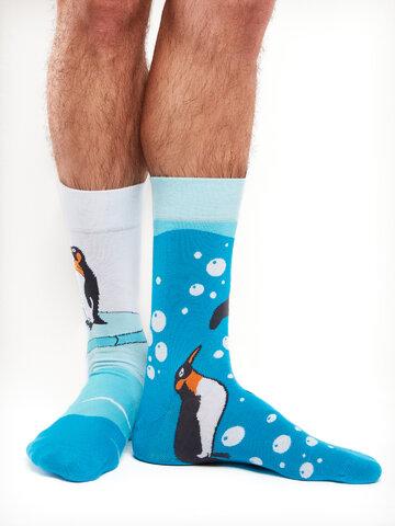 Hľadáte originálny a nezvyčajný darček? Obdarovaného zaručene prekvapí Vrolijke sokken Pinguïns