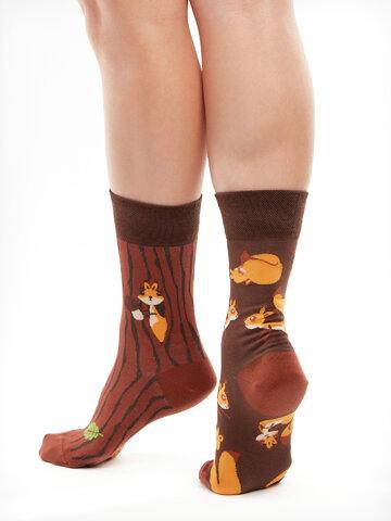 Potešte sa týmto kúskom Dedoles Živahne nogavice Veveričke