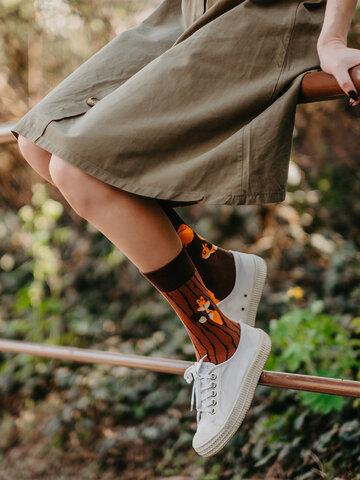 Výpredaj Živahne nogavice Veveričke