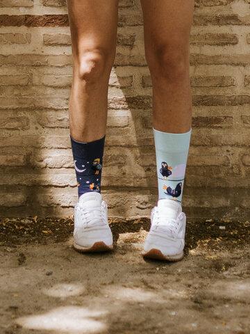 Výjimečný dárek od Dedoles Veselé ponožky Vtipní holubi