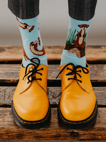 Potešte sa týmto kúskom Dedoles Весели чорапи Видри