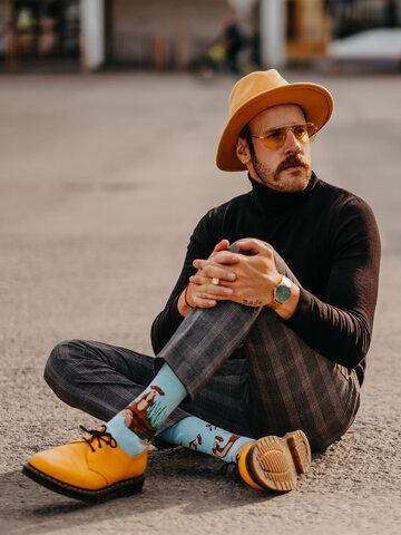 Lifestyle foto Весели чорапи Видри