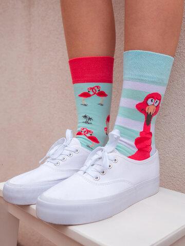 Sale Regular Socks Tangled Flamingo
