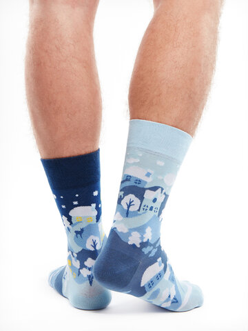 Original gift Regular Socks Winter Country