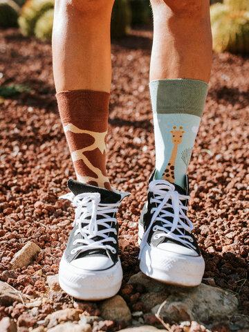 Original gift Regular Socks Giraffe
