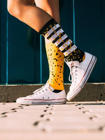 Sleva Veselé sportovní ponožky cákance