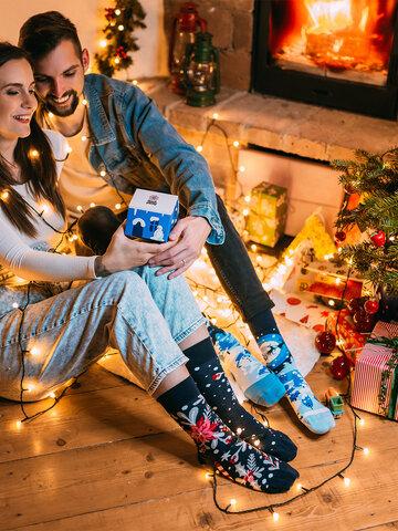Bereiten Sie sich Freude mit diesem Dedoles-Stück Geschenkbox Winterwunderland