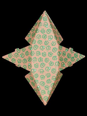 Zdjęcie lifestyle Pudełko na prezent w kształcie piramidy z zapachem magia świąt