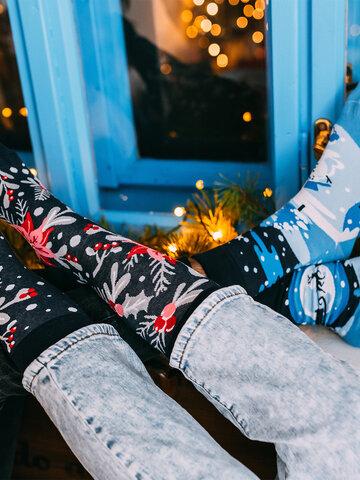 Pre dokonalý a originálny outfit Calcetines alegres Decoración de Navidad