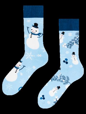 Potěšte se tímto kouskem Dedoles Dárková krabička teplých ponožek Tučňák a sněhulák