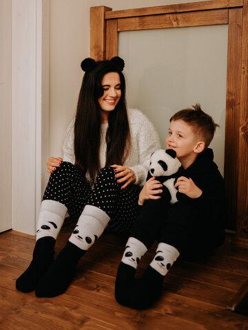 Výpredaj Vesele tople čarape Sretna panda