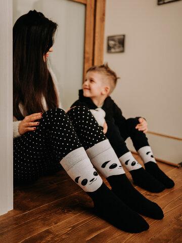 Zľava Vesele tople čarape Sretna panda