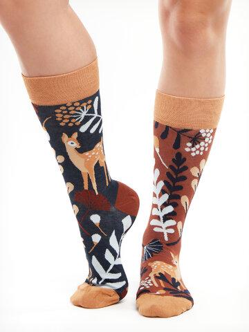 Výnimočný darček od Dedoles Veselé bambusové ponožky Srnka