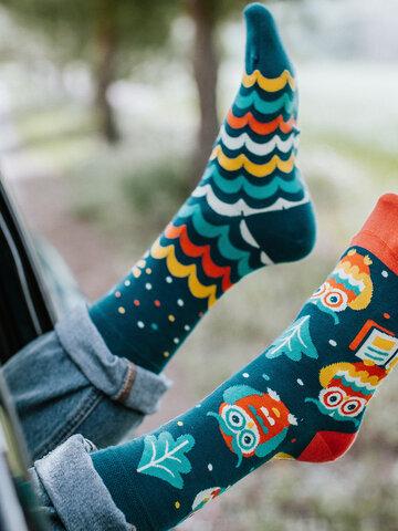 Original gift Regular Socks Wise Owl