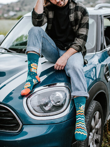 Gift idea Regular Socks Wise Owl