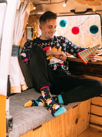 Potešte sa týmto kúskom Dedoles Regular Socks Party Hamsters