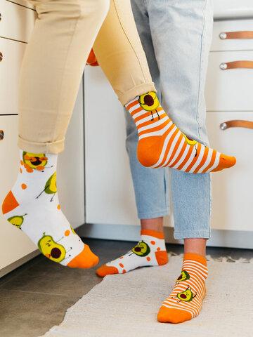 Suchen Sie ein originelles und außergewöhliches Geschenk? überrascht den Beschenkten sicher Lustige Socken Lustige Avocado