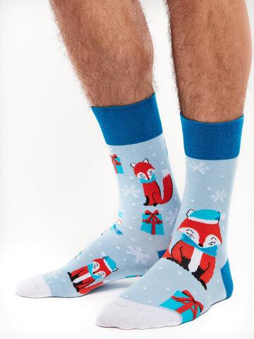 Pre dokonalý a originálny outfit Regular Socks Winter Fox