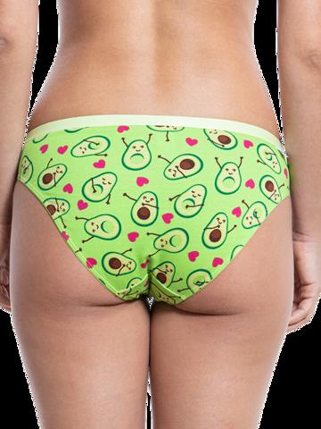 Rabatt Lustige Höschen für Frauen Avocado-Liebe