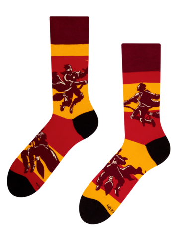 Výpredaj Vrolijke sokken Harry Potter ™ Zwerkbal
