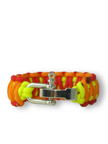 Rabatt Paracord-Armband Sonnenuntergang mit verstellbarer Schnalle