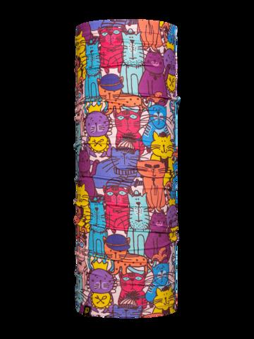 Pre dokonalý a originálny outfit Veselý nákrčník Pestrofarebné mačky