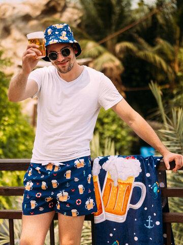 Lifestyle foto Chapéu alegre Cerveja Fresquinha