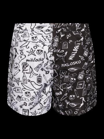Výpredaj Živahne moške plavalne hlače Miklosko & Dedoles